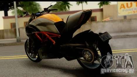 Ducati Diavel 2012 для GTA San Andreas вид слева