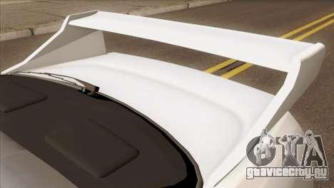 Nissan Skyline R33 Drift JDM для GTA San Andreas вид сзади
