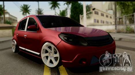 Dacia Sandero Low Tuning для GTA San Andreas