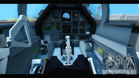 Beechcraft T-6 Texan II US Air Force 4 для GTA San Andreas вид сзади
