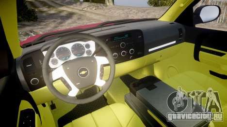 Chevrolet Silverado 1500 LT Extended Cab wheels1 для GTA 4 вид сзади