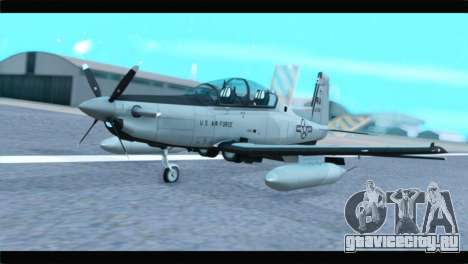 Beechcraft T-6 Texan II US Air Force 4 для GTA San Andreas