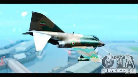 McDonnell Douglas F-4 IRIAF для GTA San Andreas вид слева