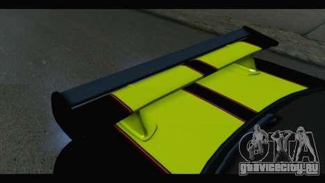 Nissan Skyline R34 BudMat для GTA San Andreas вид сзади