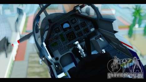 Beechcraft T-6 Texan II US Air Force 2 для GTA San Andreas вид сзади