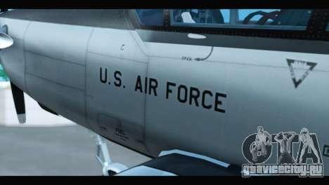Beechcraft T-6 Texan II US Air Force 3 для GTA San Andreas вид справа
