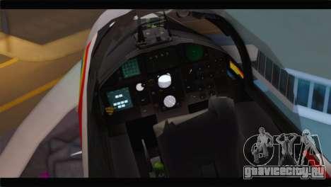 F-15J Hyakuri Air Base 30th Anniversary для GTA San Andreas вид сзади