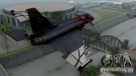 Eurofighter Typhoon 2000 для GTA San Andreas вид слева