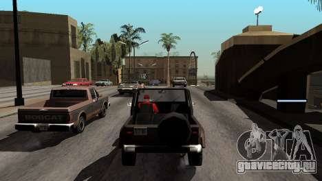 Новые тени без потери FPS для GTA San Andreas одинадцатый скриншот