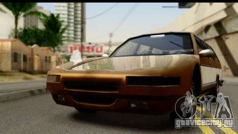 Regina with Infernus face для GTA San Andreas вид сзади слева