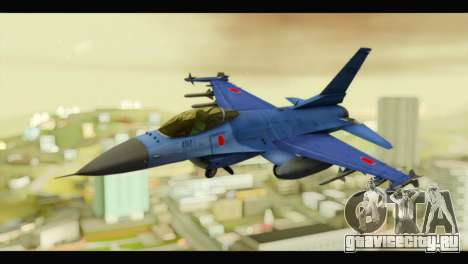 Mitsubishi F-2A JASDF Blue v2.0 для GTA San Andreas
