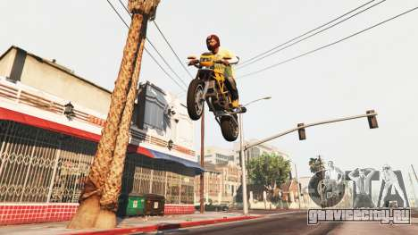 Прыгающий транспорт для GTA 5
