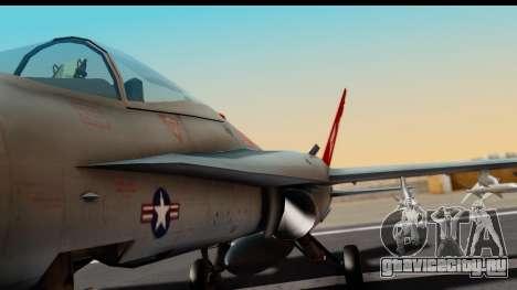 McDonnell Douglas FA-18C Hornet VMFA-232 USMC для GTA San Andreas вид изнутри