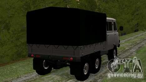 УАЗ 39094 6Х6 Мечта охотника для GTA San Andreas вид сзади слева