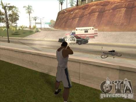 Отличные русские пистолеты для GTA San Andreas пятый скриншот