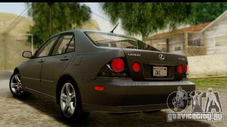 Lexus IS300 Tunable для GTA San Andreas вид слева