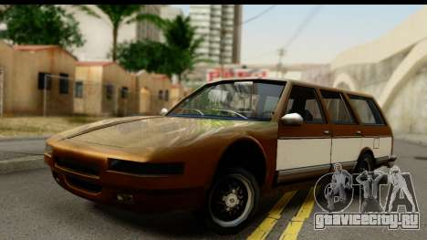 Regina with Infernus face для GTA San Andreas