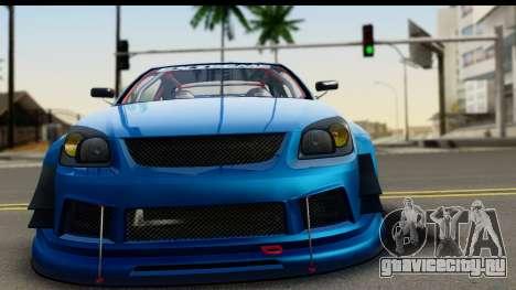 Chevrolet Cobalt SS Mio Itasha для GTA San Andreas вид сзади слева
