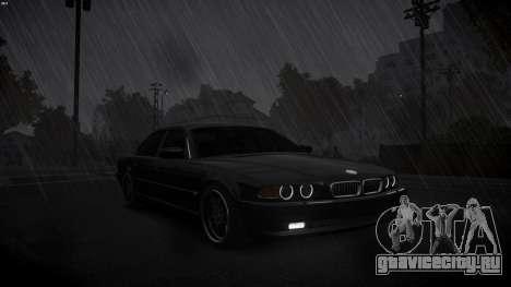 BMW 750i e38 1994 Final для GTA 4 вид изнутри