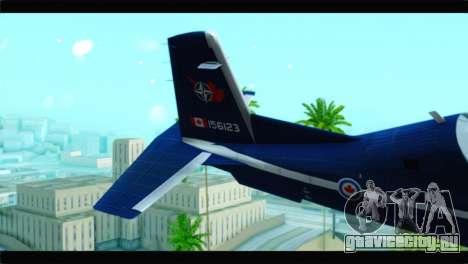 Beechcraft T-6 Texan II Royal Canadian Air Force для GTA San Andreas вид сзади слева