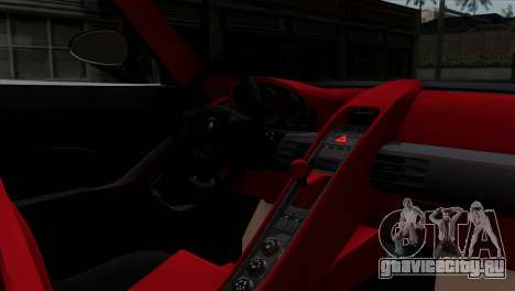 Gemballa Mirage GT v1 Windows Down для GTA San Andreas вид сзади слева