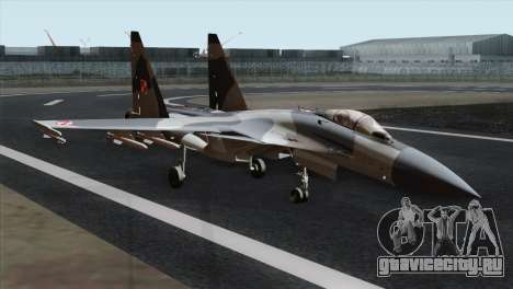 SU-37 Flanker-F Polish Air Force для GTA San Andreas