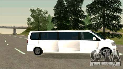 Mitsubishi EK Wagon Limo для GTA San Andreas вид слева