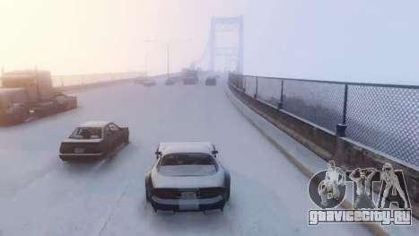 GTA V Online Snow Mod для GTA 5