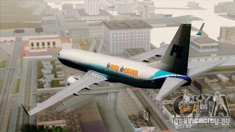 Boeing B737-800 Pilot Life Boeing Merge для GTA San Andreas вид слева