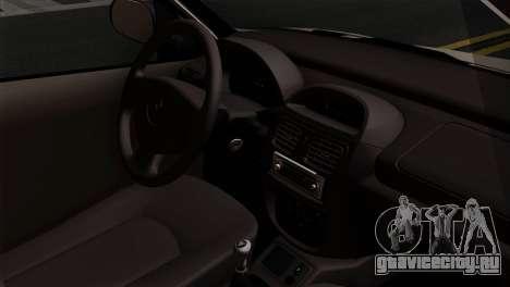 Renault Clio Mio 5P для GTA San Andreas вид справа