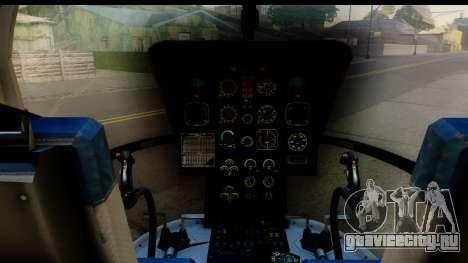 MBB Bo-105 Red Bull для GTA San Andreas вид сзади