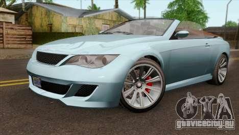 GTA 5 Ubermacht Zion XS Cabrio IVF для GTA San Andreas