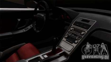 Honda NSX Police Car для GTA San Andreas вид справа