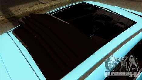Ford Fiesta 2009 Minty Fresh для GTA San Andreas вид сзади