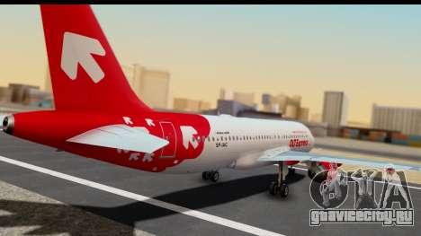 Airbus A320-200 OLT Express для GTA San Andreas вид слева