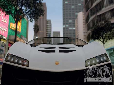 ENB для средних PC by WD для GTA San Andreas второй скриншот