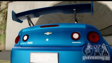 Chevrolet Cobalt SS Mio Itasha для GTA San Andreas вид справа
