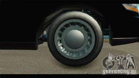 GTA 5 Dundreary Stretch IVF для GTA San Andreas вид сзади слева