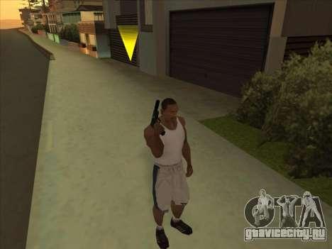 Отличные русские пистолеты для GTA San Andreas второй скриншот