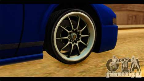 Infernus Rapide GTS для GTA San Andreas вид сзади слева