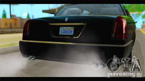 GTA 5 Dundreary Stretch IVF для GTA San Andreas вид сзади