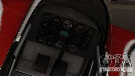 GTA 5 Stuntplane для GTA San Andreas вид сзади