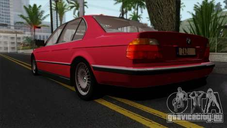 BMW 750iL E38 для GTA San Andreas вид слева