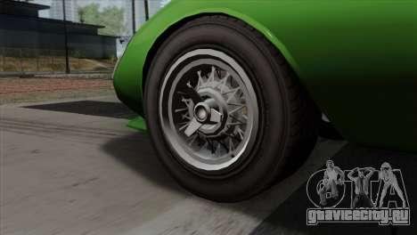 GTA 5 Grotti Stinger GT v2 SA Mobile для GTA San Andreas вид сзади слева