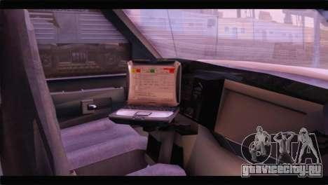 Ford E-350 Ambulance New Brunswick для GTA San Andreas вид справа