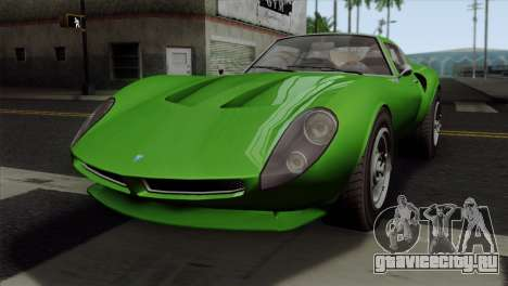 GTA 5 Grotti Stinger GT v2 SA Mobile для GTA San Andreas