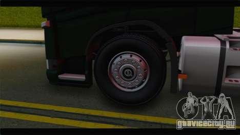 Volvo FH4 для GTA San Andreas вид сзади слева