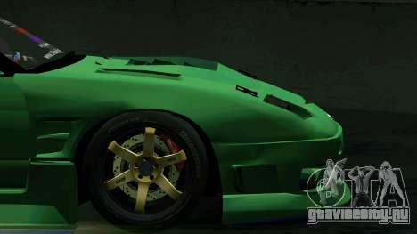 Nissan 180SX для GTA San Andreas вид сбоку