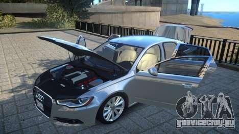 Audi A6 2012 v1.0 для GTA 4 вид сбоку