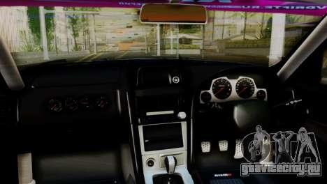 Nissan Skyline GTR34 Tokage для GTA San Andreas вид справа